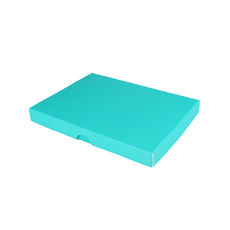 C6 Invitation Box- Matt Blue (MinOrder of 100 units) - Separate Base & Lid