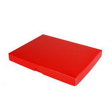 C6 Invitation Box- Gloss Red (Min Order of 100 units)- Separate Base & Lid