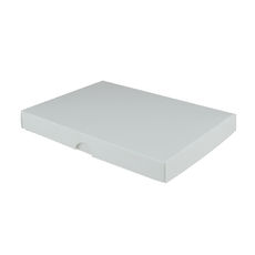 C6 Invitation Box- Gloss White - Separate Base & Lid - Paperboard
