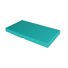 DL Invitation Box- Matt Blue - Separate Base & Lid - Paperboard