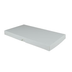 DL Invitation Box- Gloss White - Separate Base & Lid - Paperboard