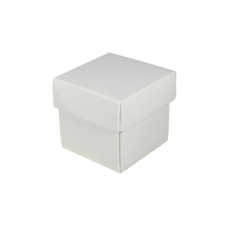 SAMPLE - Square Tiny Gift Box - White