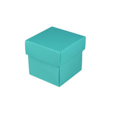 Square Tiny Gift Box - Matt Blue