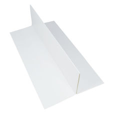 Slim Line Double Wine Insert - Smooth White  - Paperboard