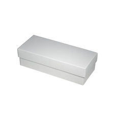 Slim Line Sunglasses Gift Box - White  (Separate Base and Lid)