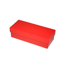 Slim Line Sunglasses Gift Box - Gloss Red  (Separate Base and Lid)