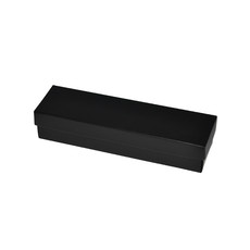 Slim Line Pen Gift Box - Gloss Black Paperboard (285gsm) (Base & Lid)