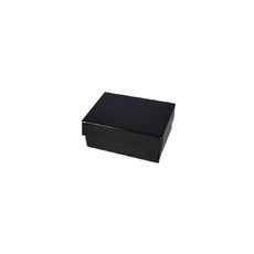 Slim Line Jewellery Box Small - Gloss Black  (Separate Base and Lid)