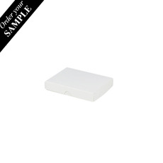 SAMPLE - Slim Line Jewellery Box Large - White
