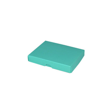 Slim Line Jewellery Box Large - Matt Blue  (Separate Base and Lid)