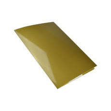 A4 Folder with Business Card Holder - Gloss Gold