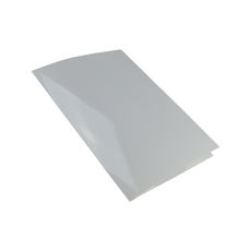 A4 Folder with Business Card Holder - Gloss White