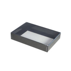 Slim Line C6 Gift Box - Gloss Black with Clear Lid