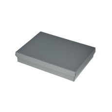 Slim Line C6 Gift Box - Gloss Silver