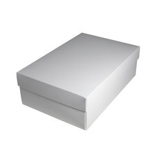 Shoe Gift Box - White (Separate Base & Lid)