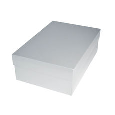 Shoe Gift Box - Gloss White (Separate Base & Lid)