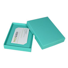 Gift Voucher Box - Matt Blue (Base, Lid & Insert) - Paperboard - Temp out of Stock