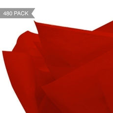 Red Tissue Paper - 500 x 760mm (Bulk 480 Sheets)