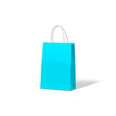 Carnival Paper Gift Bag Junior - Blue 250PK