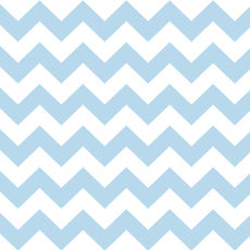 Chevron Pale Blue - Wrapping Paper - 500mm x 50metres