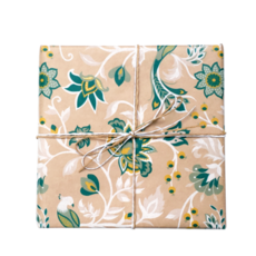 Floral Wrap Kraft - Wrapping Paper - 500mm x 50metres