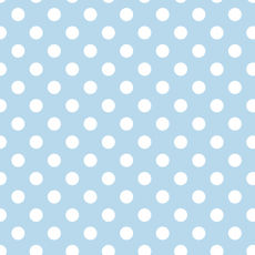 Spot Wrap Pale Blue - Wrapping Paper - 500mm x 50metres