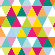 Multi Triangles Wrap - Wrapping Paper - 500mm x 50metres