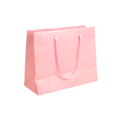 Matt Pastel Pink - European Matt Laminated Gift Bag - Small (200PK)