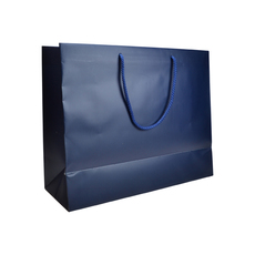 Matt Navy - European Matt Laminated Gift Bag - Large - 50 Pack