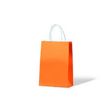 Carnival Paper Gift Bag Junior - Orange 250PK