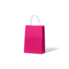 Carnival Paper Gift Bag Junior - Pink 250PK