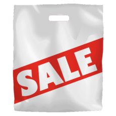 Printed Low Density Sale Bag 500PK