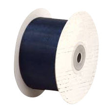 50mm Cut Edge Organza Ribbon - Navy (50mm x 50 Metres)
