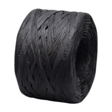 Paper Raffia - Black (4mm x 100metres)