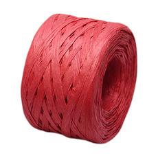 Paper Raffia - Red (4mm x 100metres)