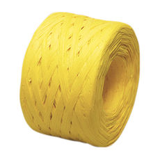 Paper Raffia - Yellow (4mm x 100metres)