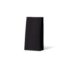 Carnival Gift Bag Medium No Handles - Black 500PK