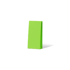Carnival Gift Bag Small No Handles - Lime 500PK
