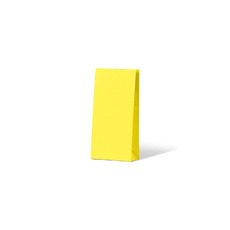 Carnival Gift Bag Small No Handles - Yellow 500PK