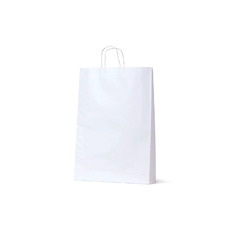White Kraft Paper Gift Bag Medium - 250PK