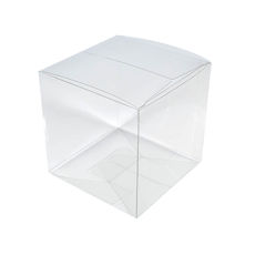 TEMP OUT OF STOCK Clear Transparent Box - 50mm Cube